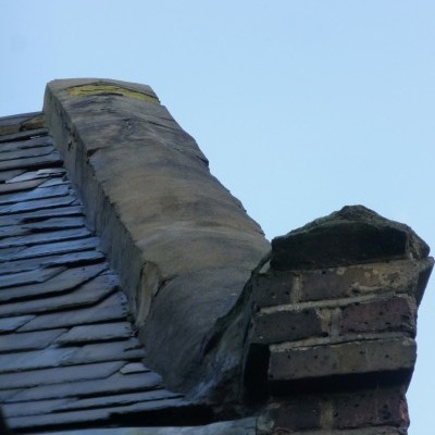 Example of church roof and stonework problems 2015