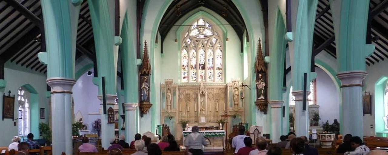 Congregation before Altar header
