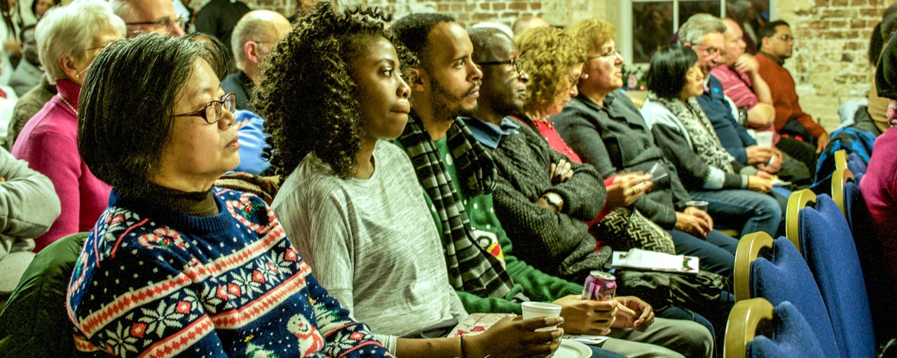 Christmas Concert audience header